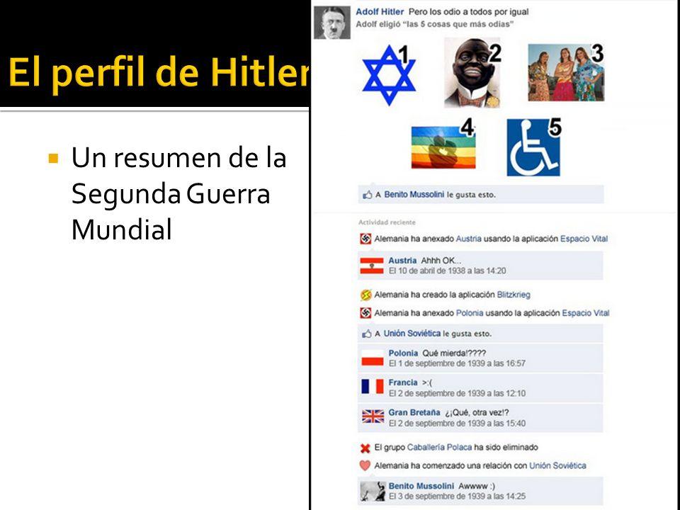 El perfil de Hitler Un resumen de la Segunda Guerra Mundial