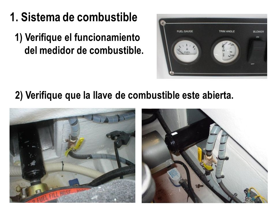 1. Sistema de combustible