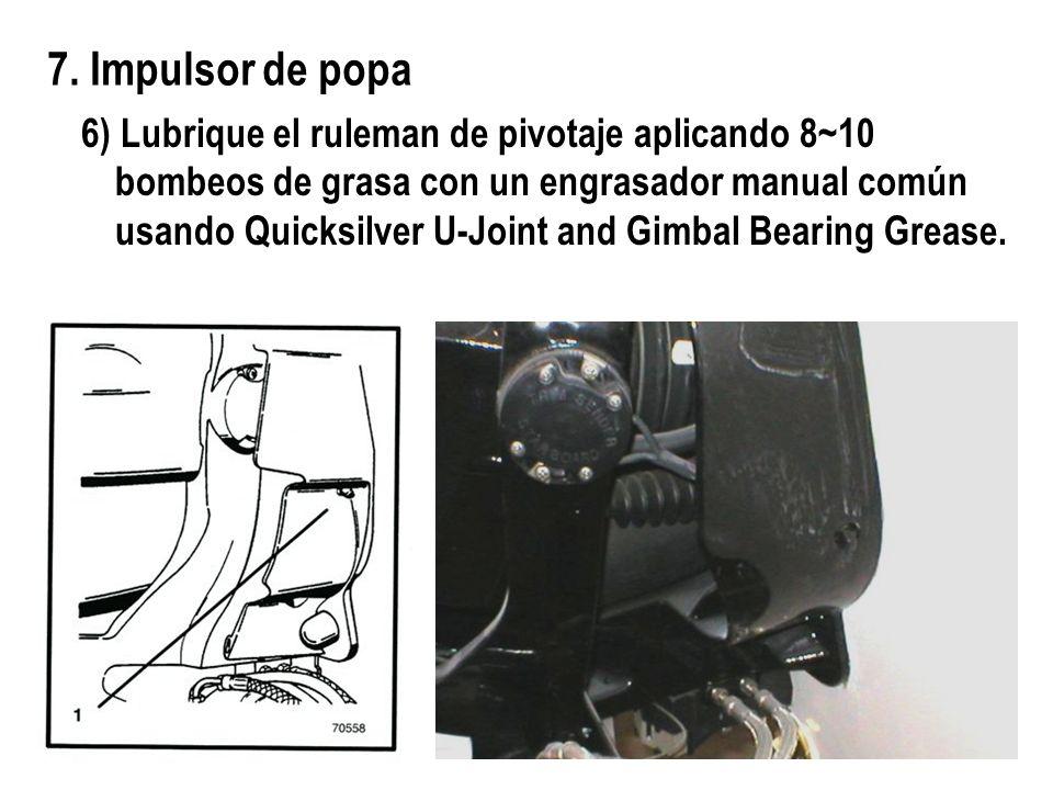 7. Impulsor de popa