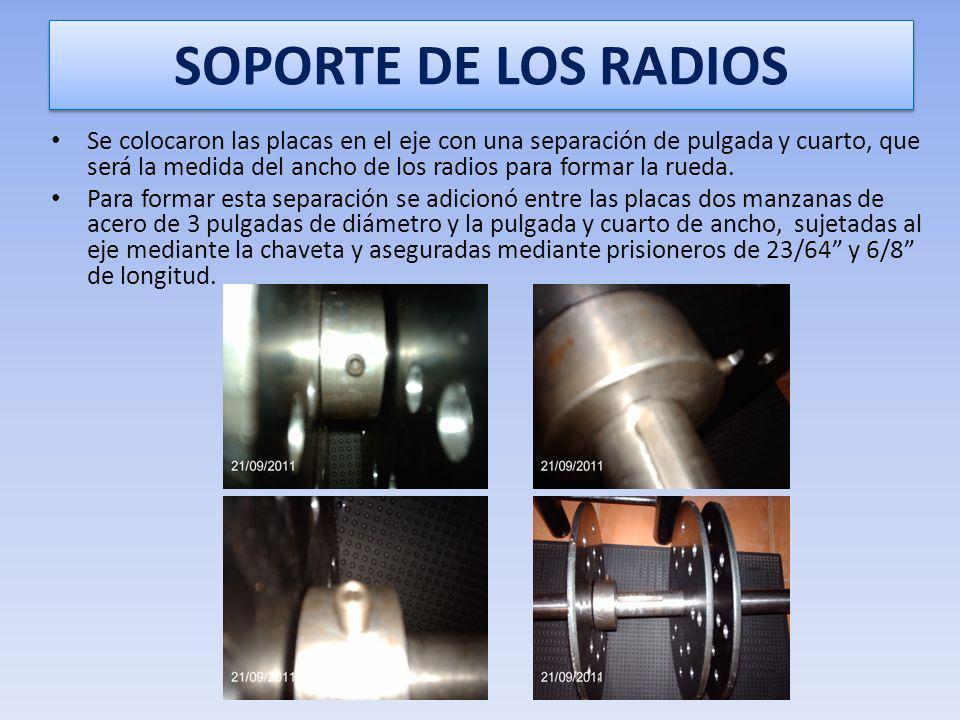 SOPORTE DE LOS RADIOS