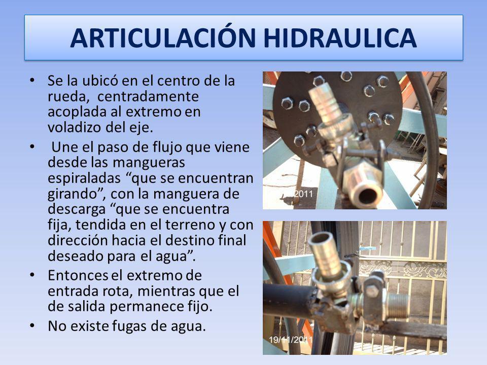 ARTICULACIÓN HIDRAULICA