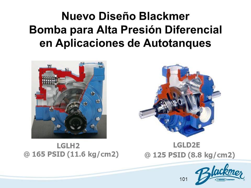 Nuevo Diseño Blackmer Bomba para Alta Presión Diferencial en Aplicaciones de Autotanques