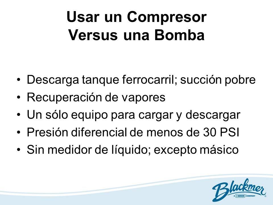 Usar un Compresor Versus una Bomba