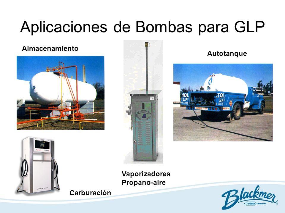 Aplicaciones de Bombas para GLP