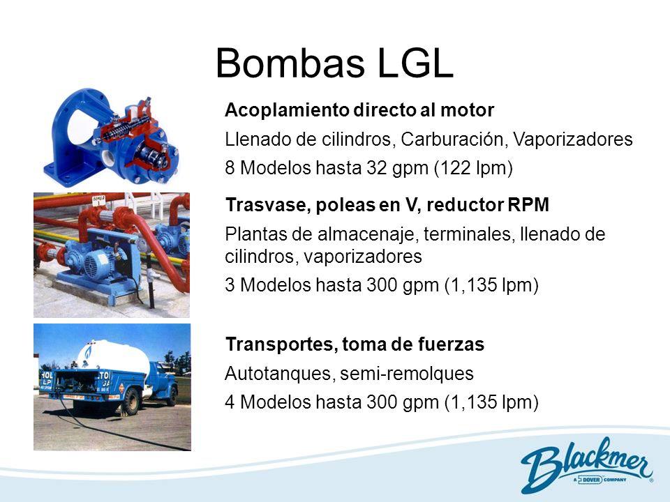 Bombas LGL Acoplamiento directo al motor