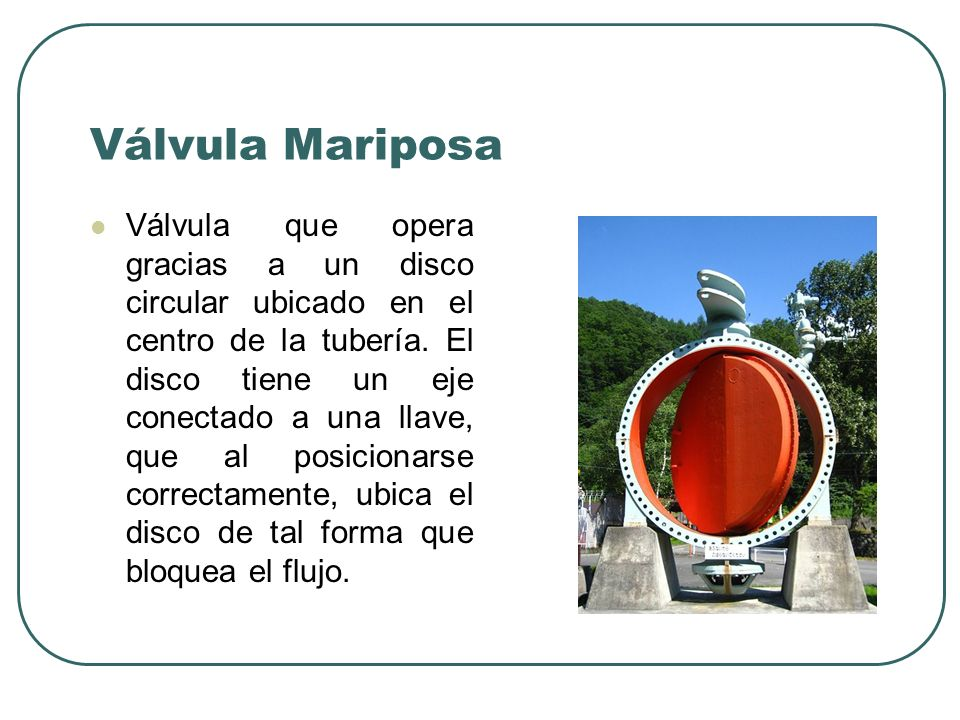 Válvula Mariposa