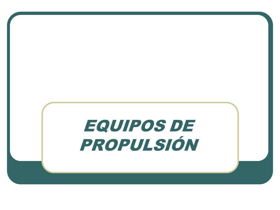 EQUIPOS DE PROPULSIÓN