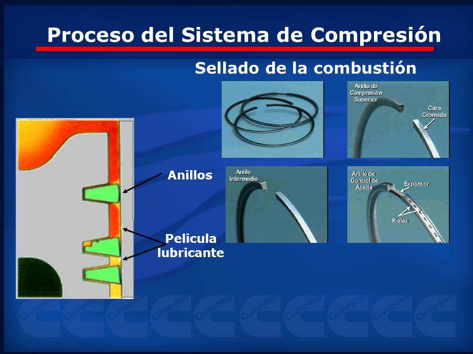 Proceso del Sistema de Compresión Sellado de la combustión