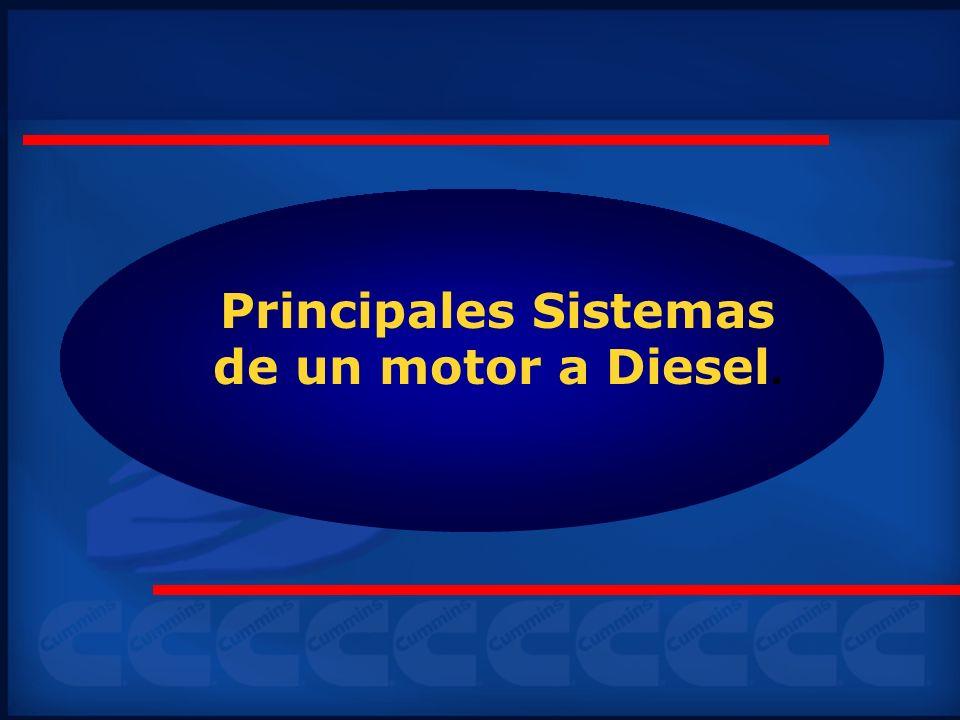 Principales Sistemas de un motor a Diesel.