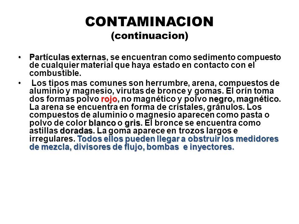 CONTAMINACION (continuacion)