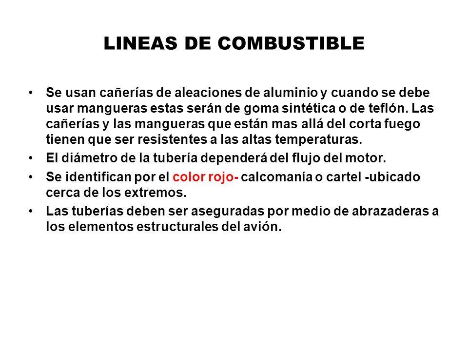 LINEAS DE COMBUSTIBLE