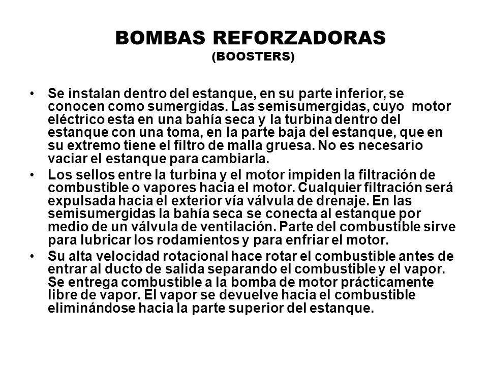 BOMBAS REFORZADORAS (BOOSTERS)