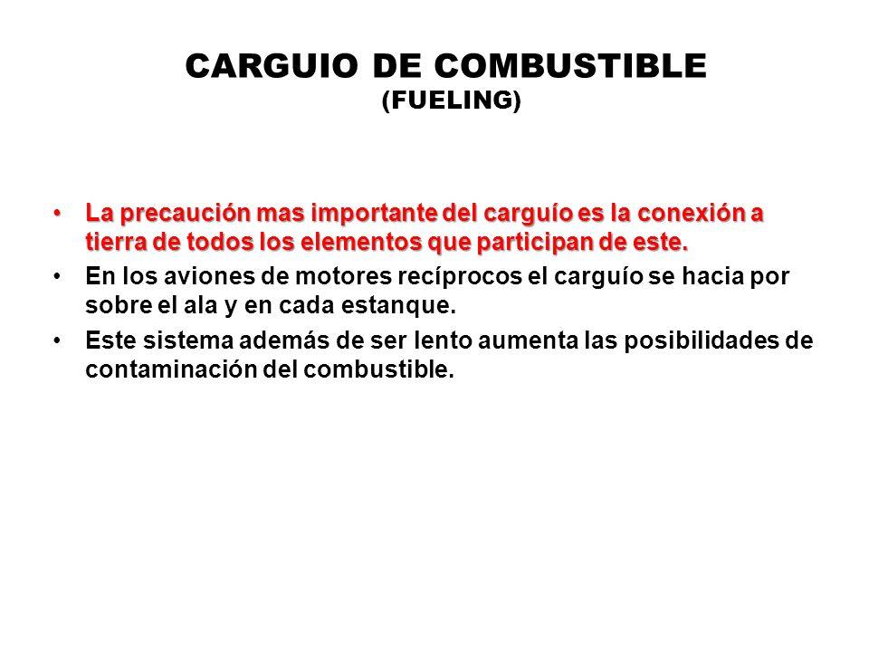 CARGUIO DE COMBUSTIBLE (FUELING)