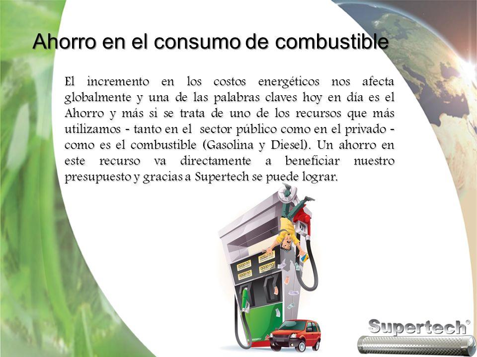 Ahorro en el consumo de combustible