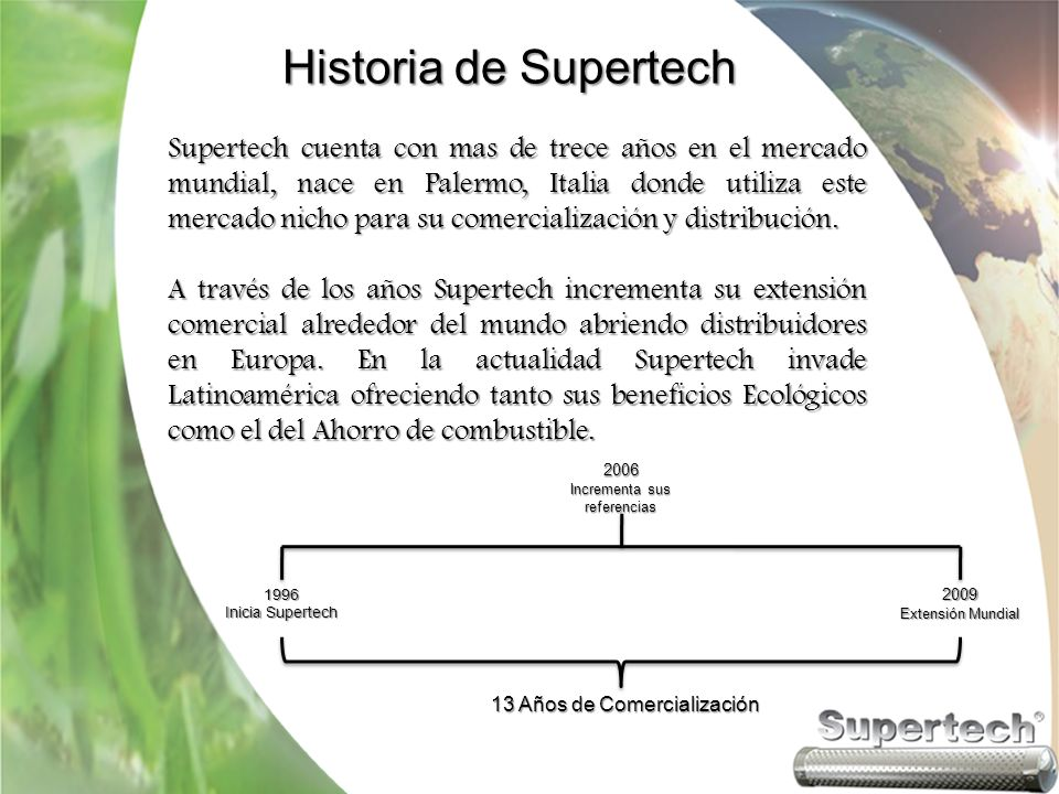 Historia de Supertech