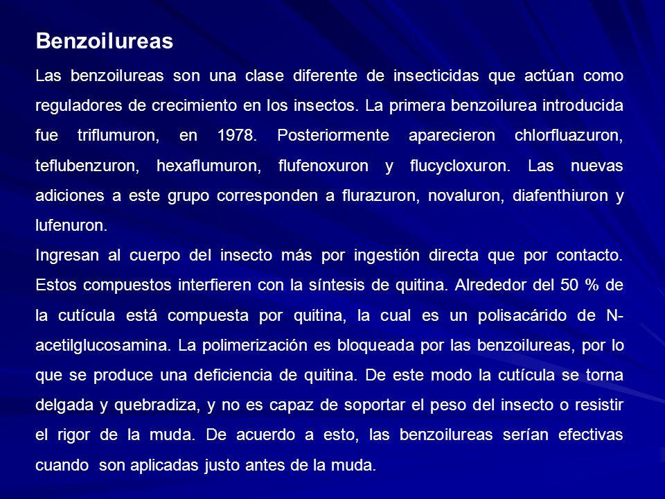 Benzoilureas