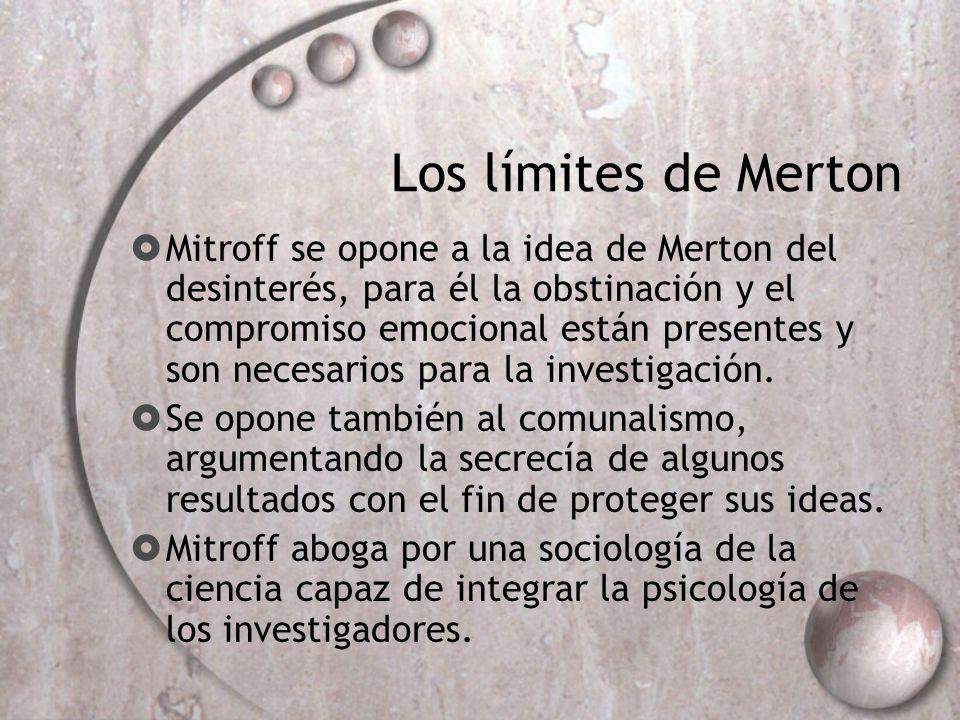 Los límites de Merton