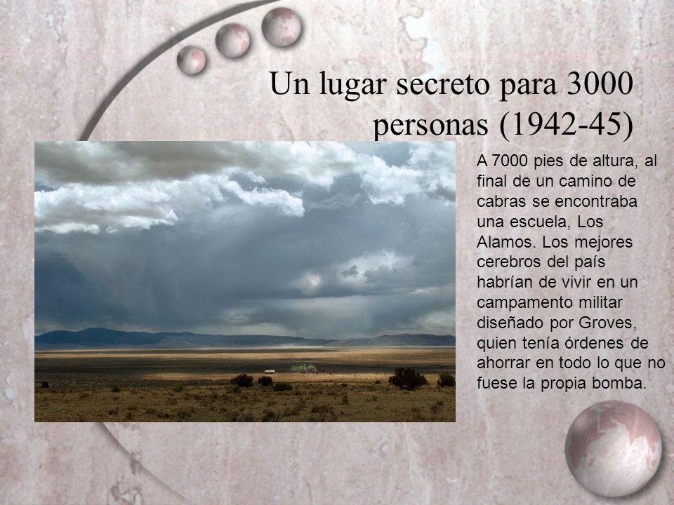 Un lugar secreto para 3000 personas (1942-45)