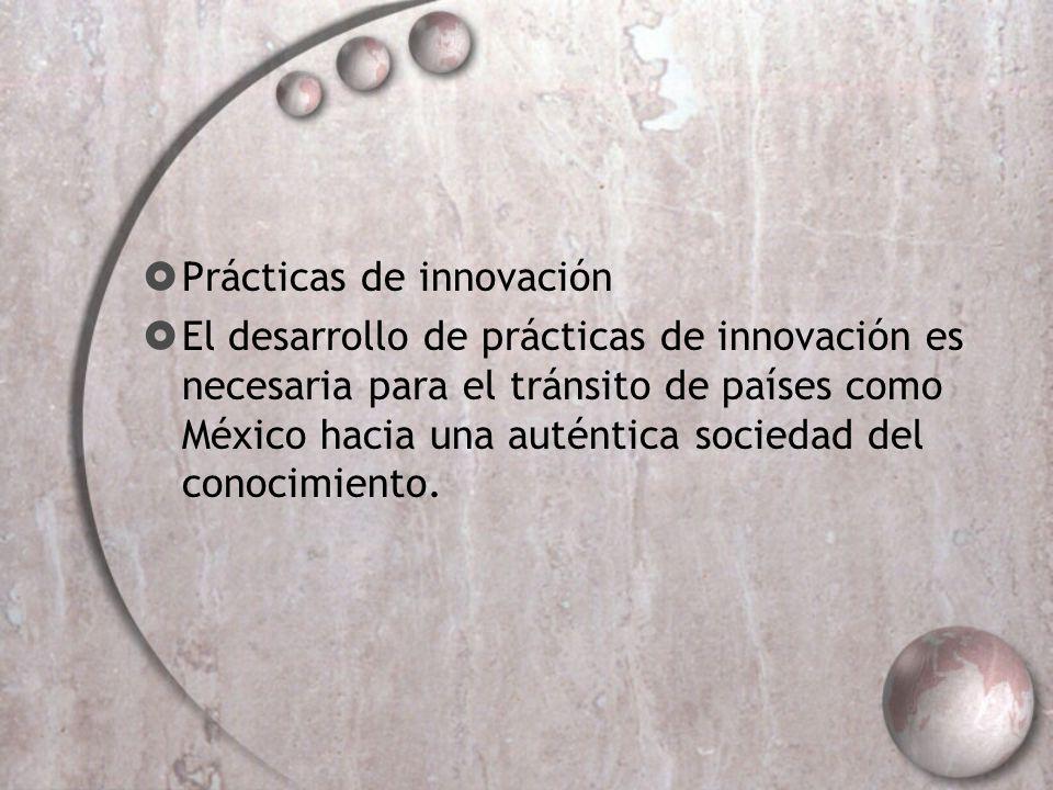 Prácticas de innovación