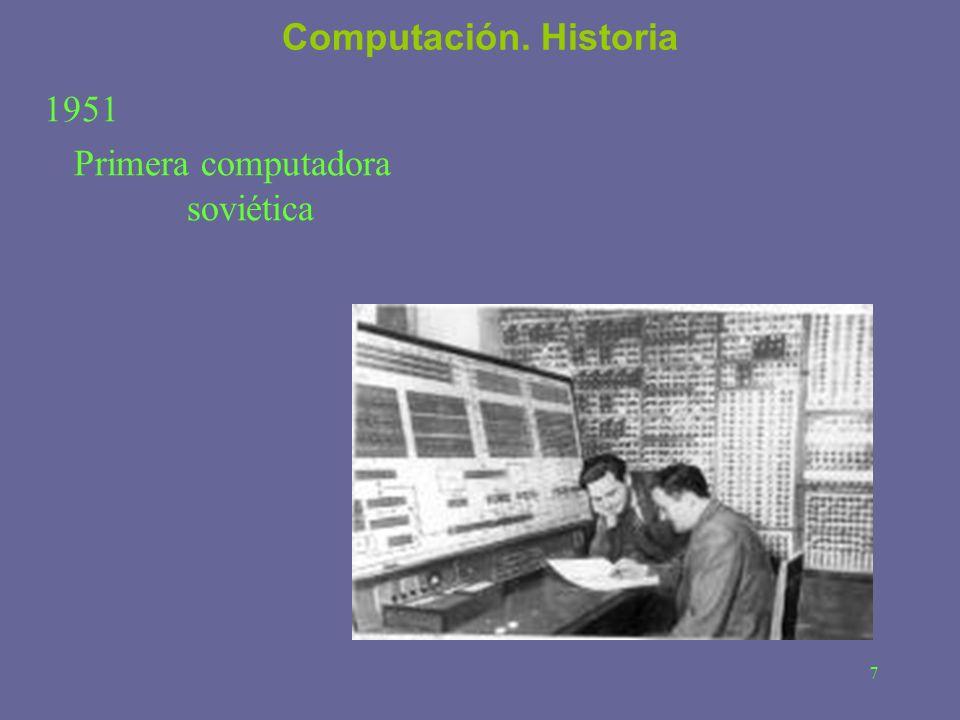 Primera computadora soviética