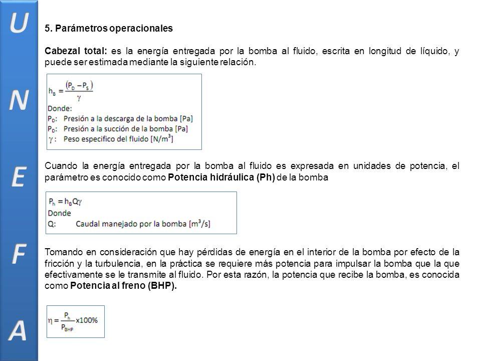 U N E F A 5. Parámetros operacionales