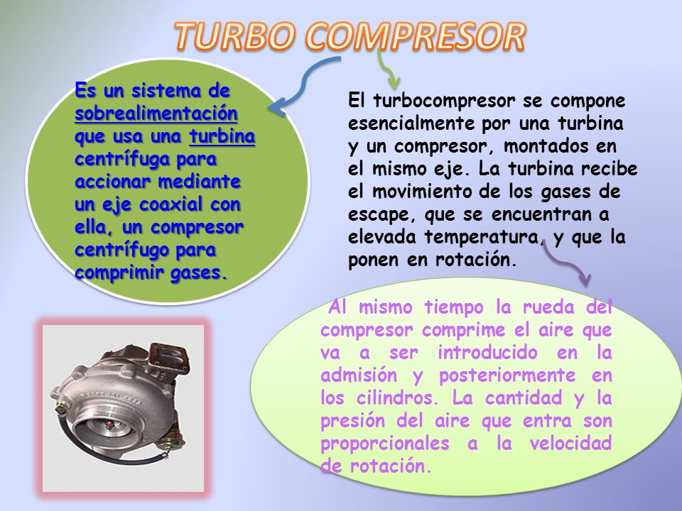 TURBO COMPRESOR