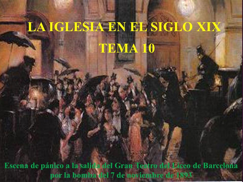 LA IGLESIA DEL SIGLO XIX