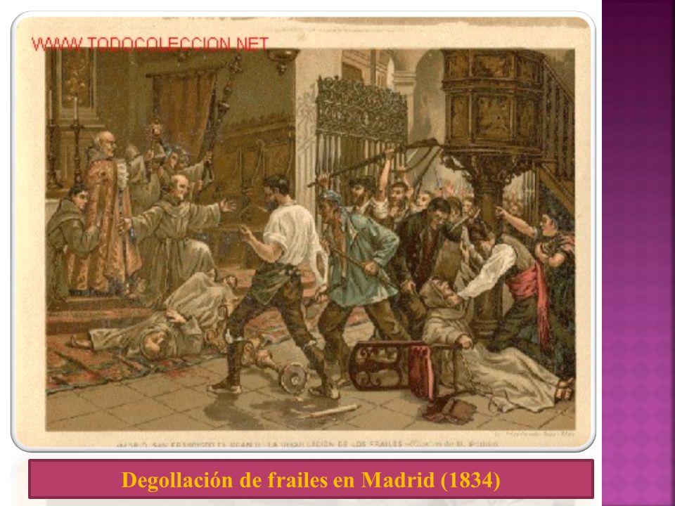 Degollación de frailes en Madrid (1834)