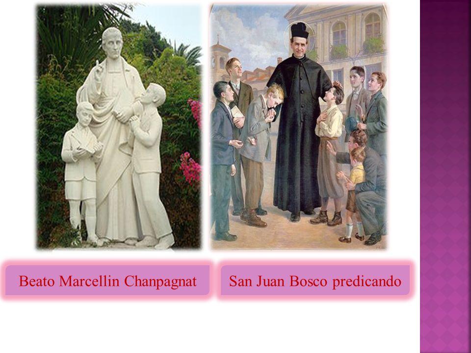 Beato Marcellin Chanpagnat San Juan Bosco predicando
