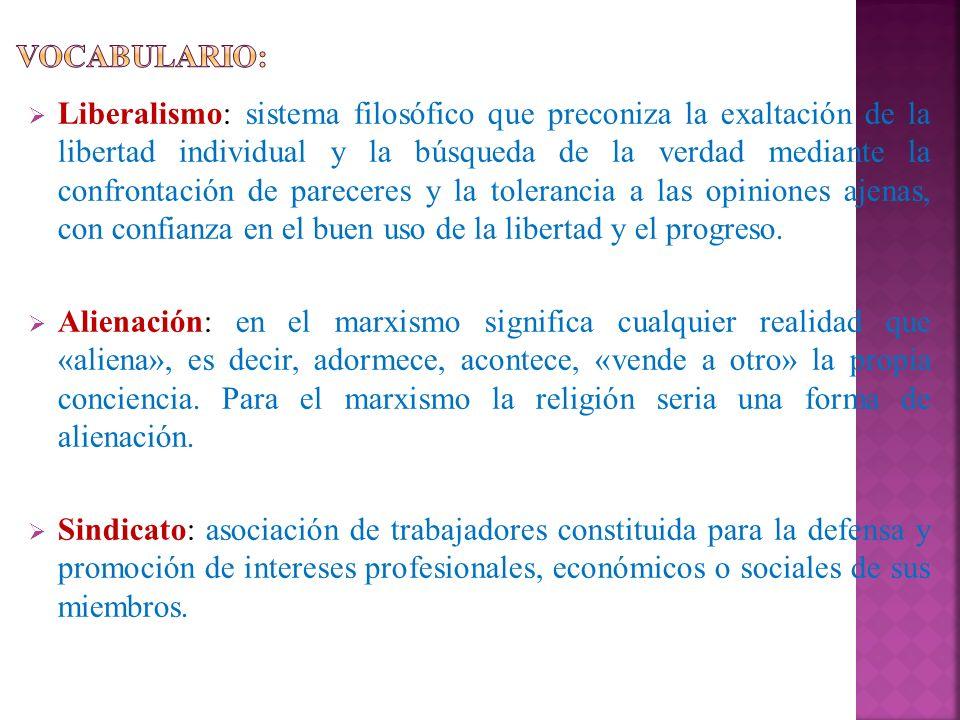 VOCABULARIO: