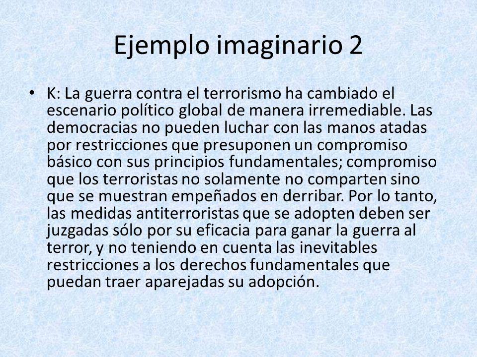 Ejemplo imaginario 2