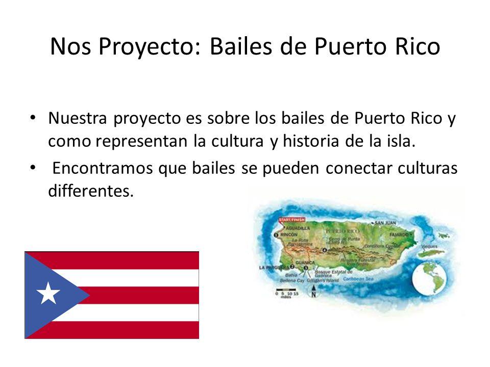 Nos Proyecto: Bailes de Puerto Rico