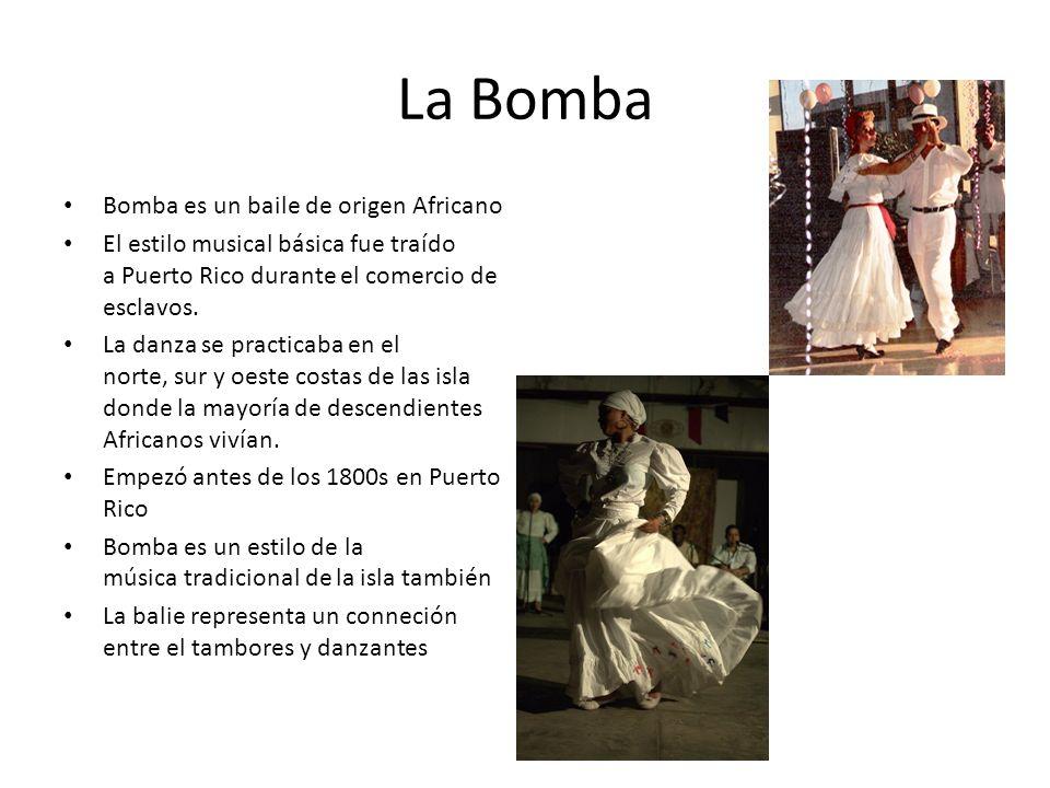 La Bomba Bomba es un baile de origen Africano