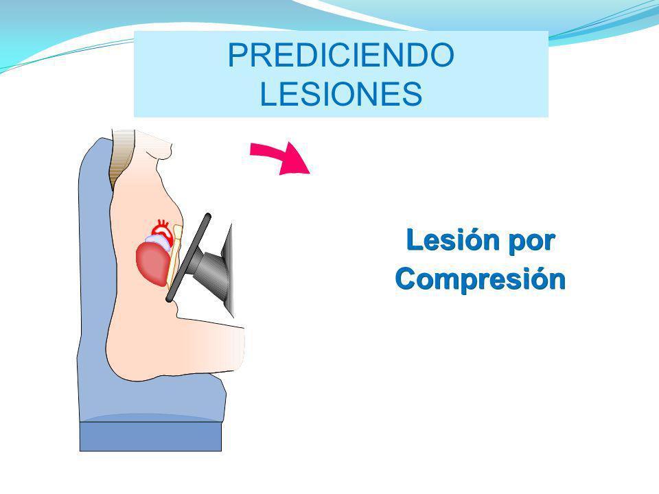 PREDICIENDO LESIONES Lesión por Compresión