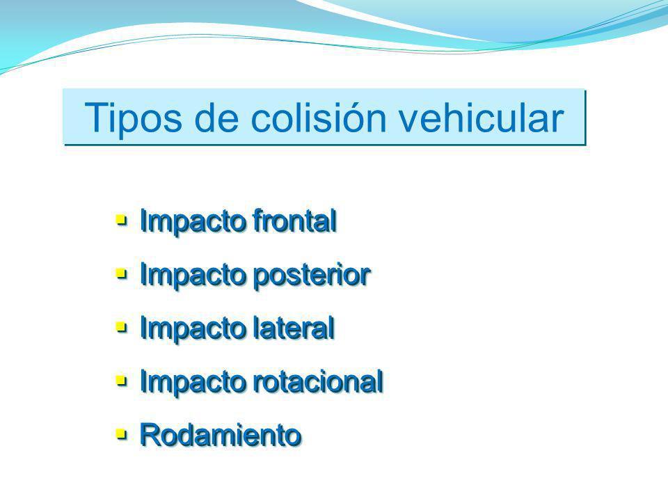 Tipos de colisión vehicular