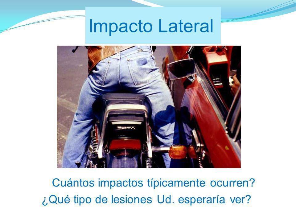 ¿Cuántos impactos típicamente ocurren