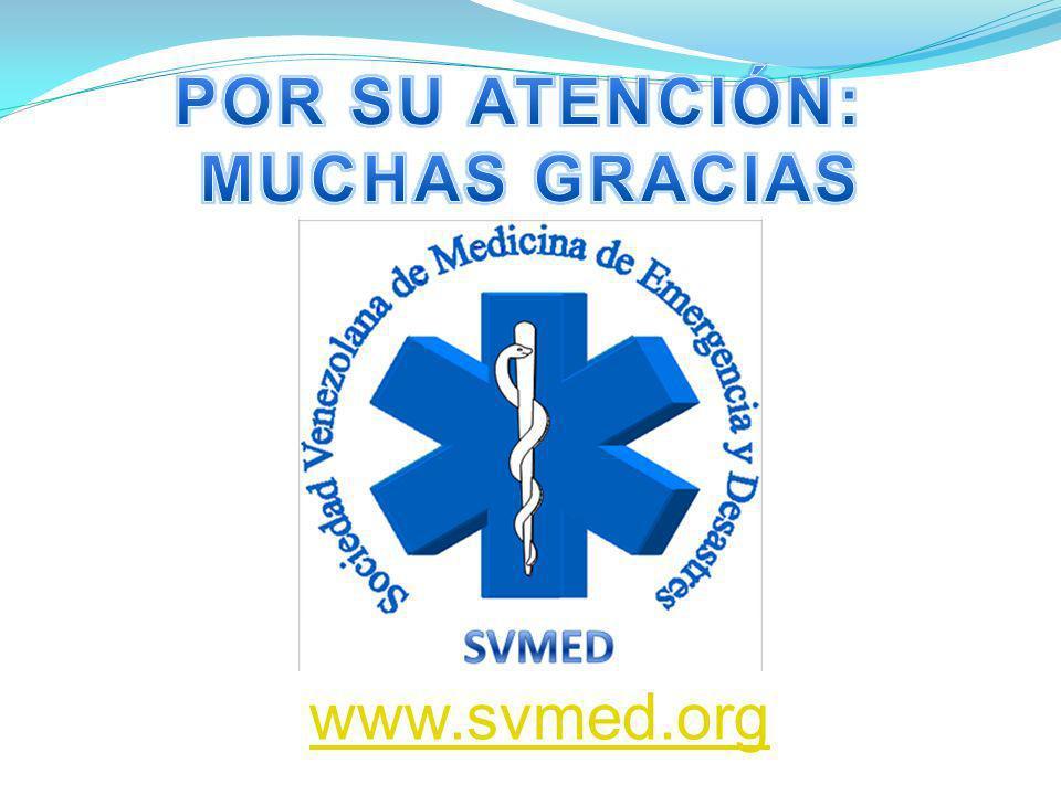 POR SU ATENCIÓN: MUCHAS GRACIAS www.svmed.org