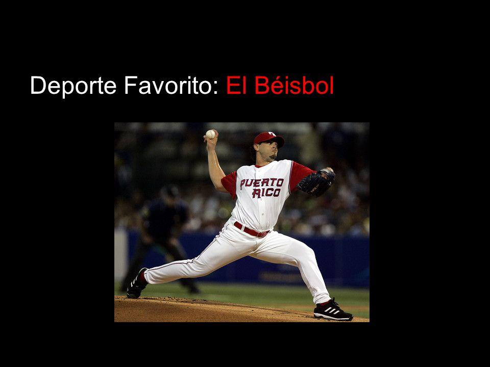 Deporte Favorito: El Béisbol