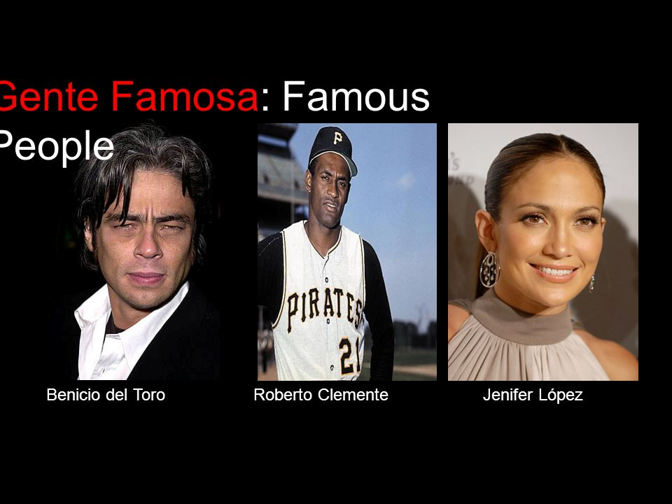 Gente Famosa: Famous People
