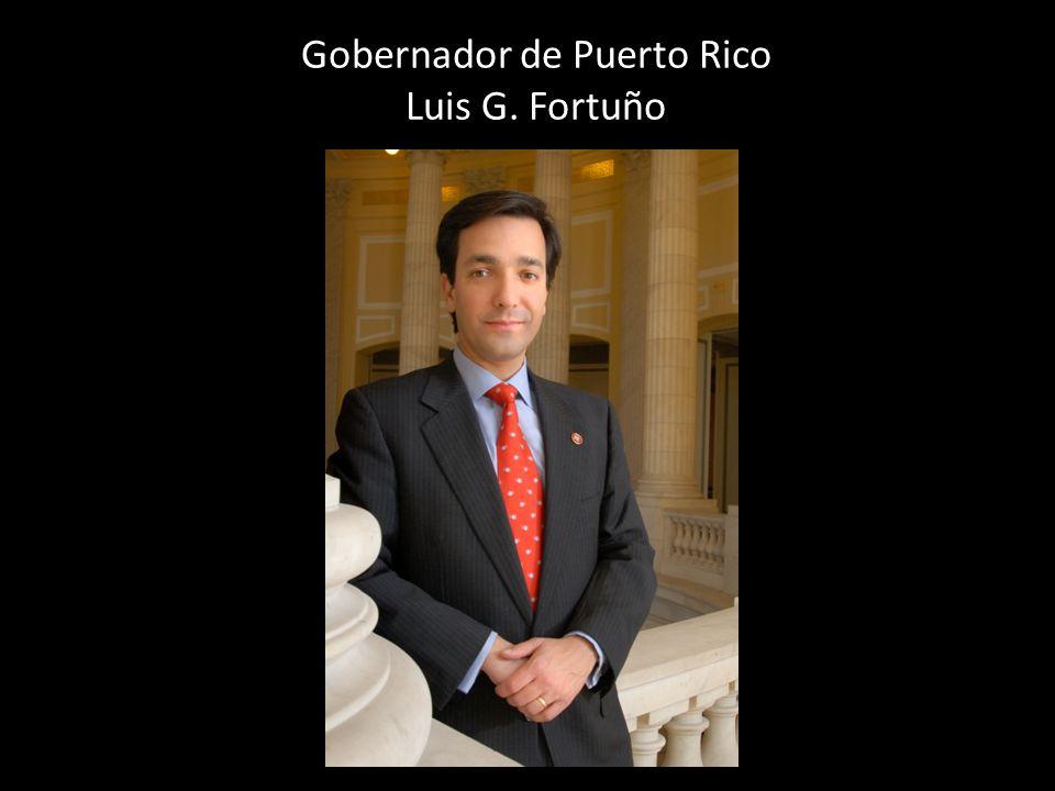 Gobernador de Puerto Rico Luis G. Fortuño