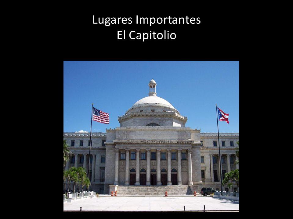 Lugares Importantes El Capitolio