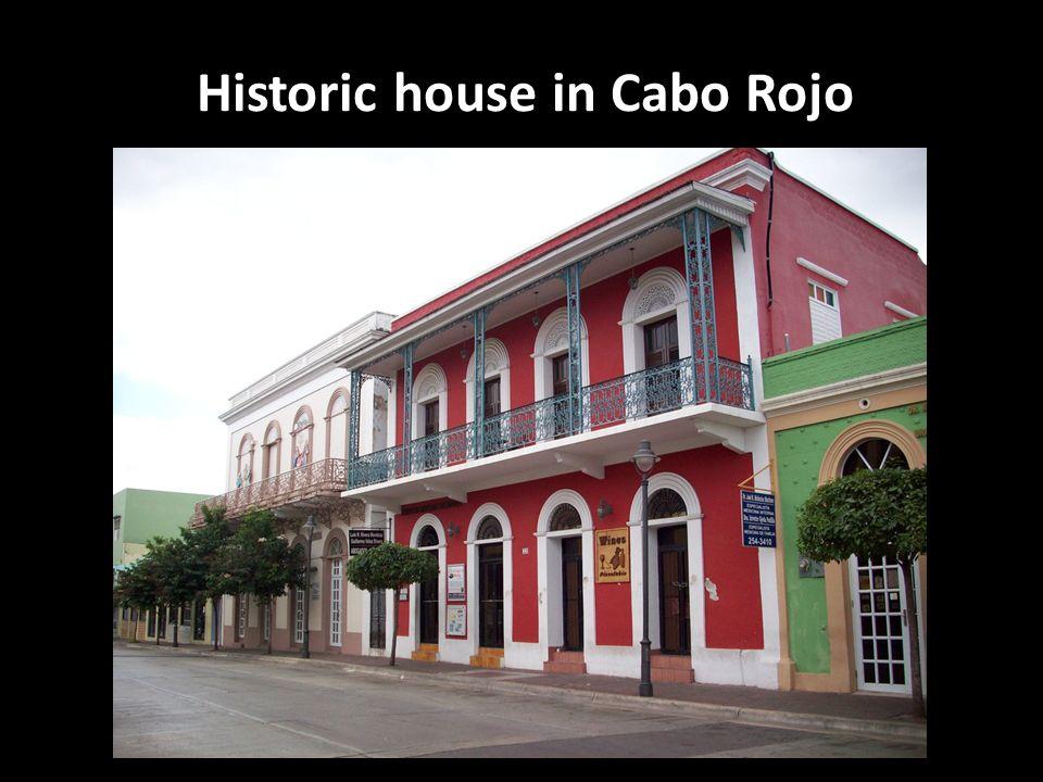 Historic house in Cabo Rojo