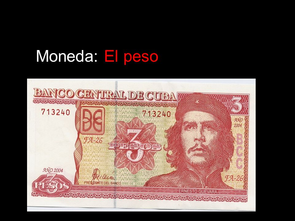 Moneda: El peso