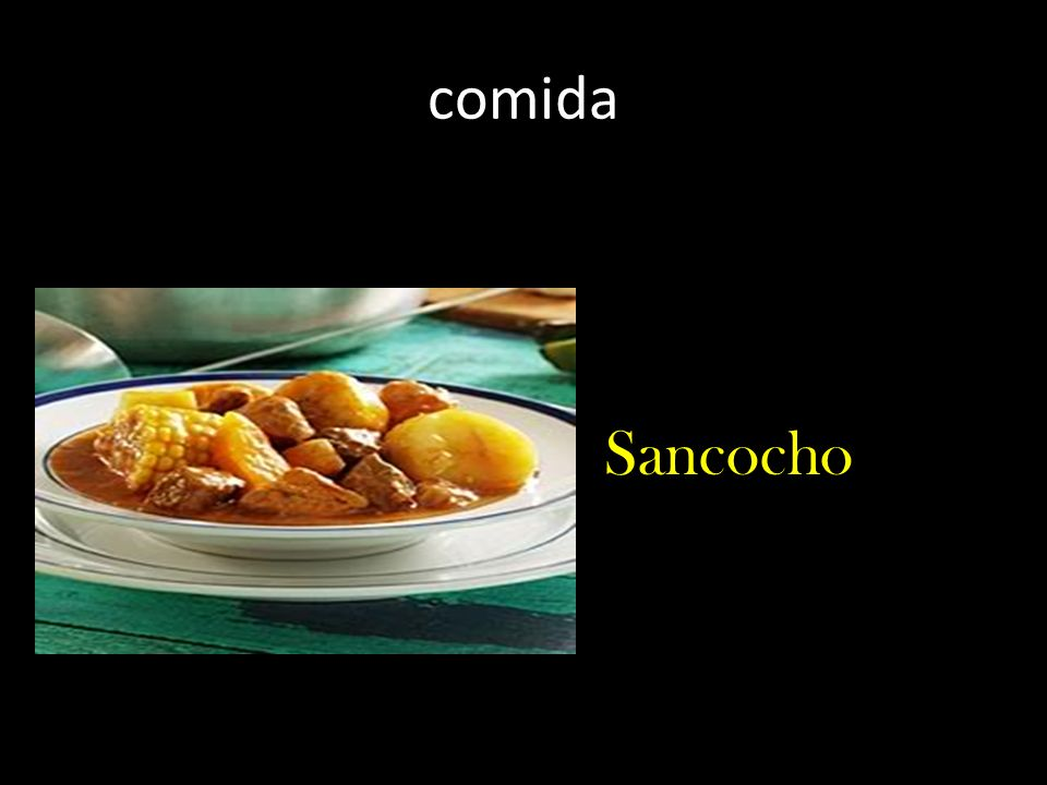 comida Sancocho