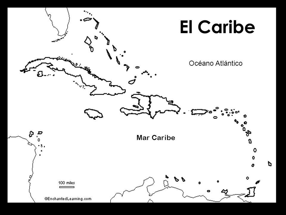 El Caribe Océano Atlántico Mar Caribe
