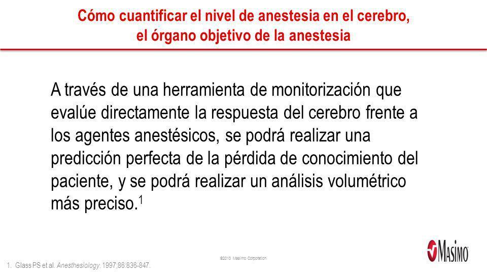Cómo cuantificar el nivel de anestesia en el cerebro, el órgano objetivo de la anestesia