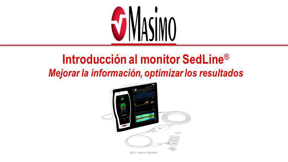 Introducción al monitor SedLine® Mejorar la información, optimizar los resultados