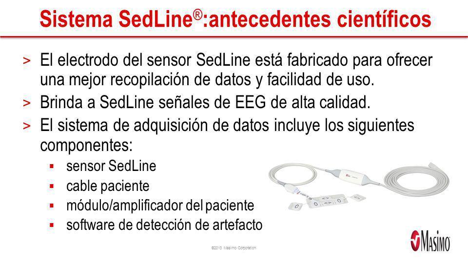 Sistema SedLine®:antecedentes científicos