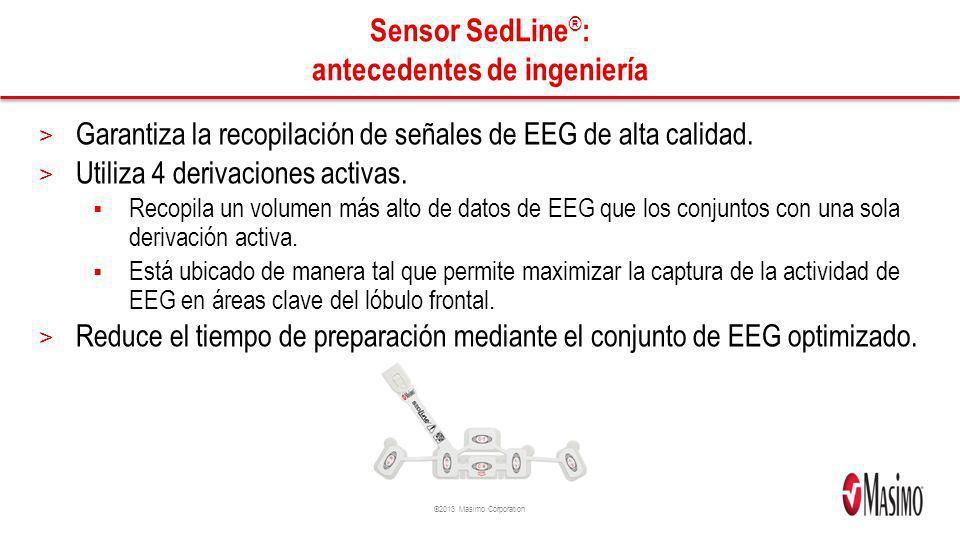 Sensor SedLine®: antecedentes de ingeniería