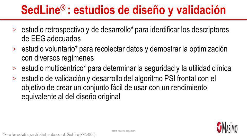 SedLine® : estudios de diseño y validación
